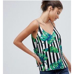 ASOS palm leaf shirt